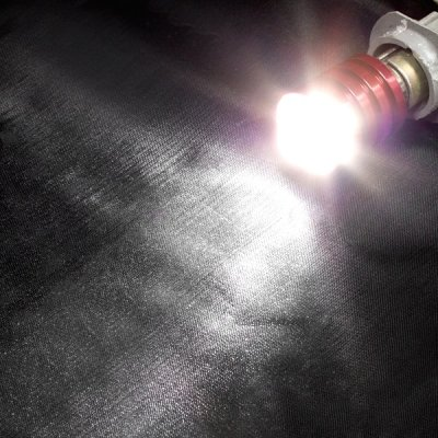 画像2: CREE社製LED使用/Q5/5W ダブル球2個セット☆驚きの明るさ!アルミメッシュ