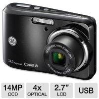 GE デジタルカメラ C1440W 高画質 14.1メガ 光学4倍ズーム 1410万画素  C1440W