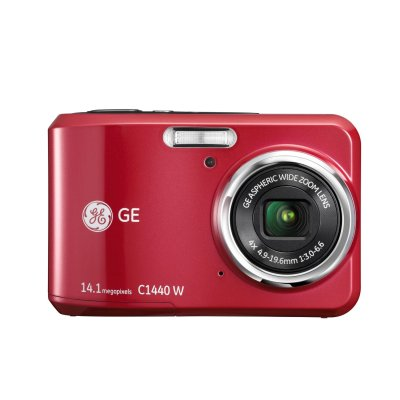 画像2: GE デジタルカメラ C1440W 高画質 14.1メガ 光学4倍ズーム 1410万画素  C1440W