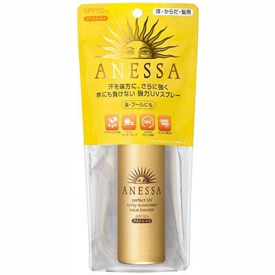 画像3: ANESSA(アネッサ) パーフェクトUVスプレー アクアブースター SPF50+/PA++++ 60g 資生堂 日焼け止め【予約受付中】
